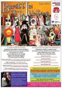 BURATTINI-IN-BIBLIOTECA-2014 MANIFESTO-coop-informatore-il-cuore-si-scioglie-linda-di-giacomo-spettacoli-teatro-burattini-marionette-pupazzi-GTP-pistoia-prato-firenze-lucca-siena-grosseto-livorno-pisa.jpg