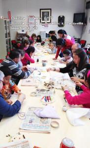COOP BURATTINI MARIONETTE 6  laboratorio bambini piccola scuola burattini marionette riciclaggio linda di giacomo spettacoli teatro burattini marionette pupazzi GTP pistoia prato firenze lucca siena livorno