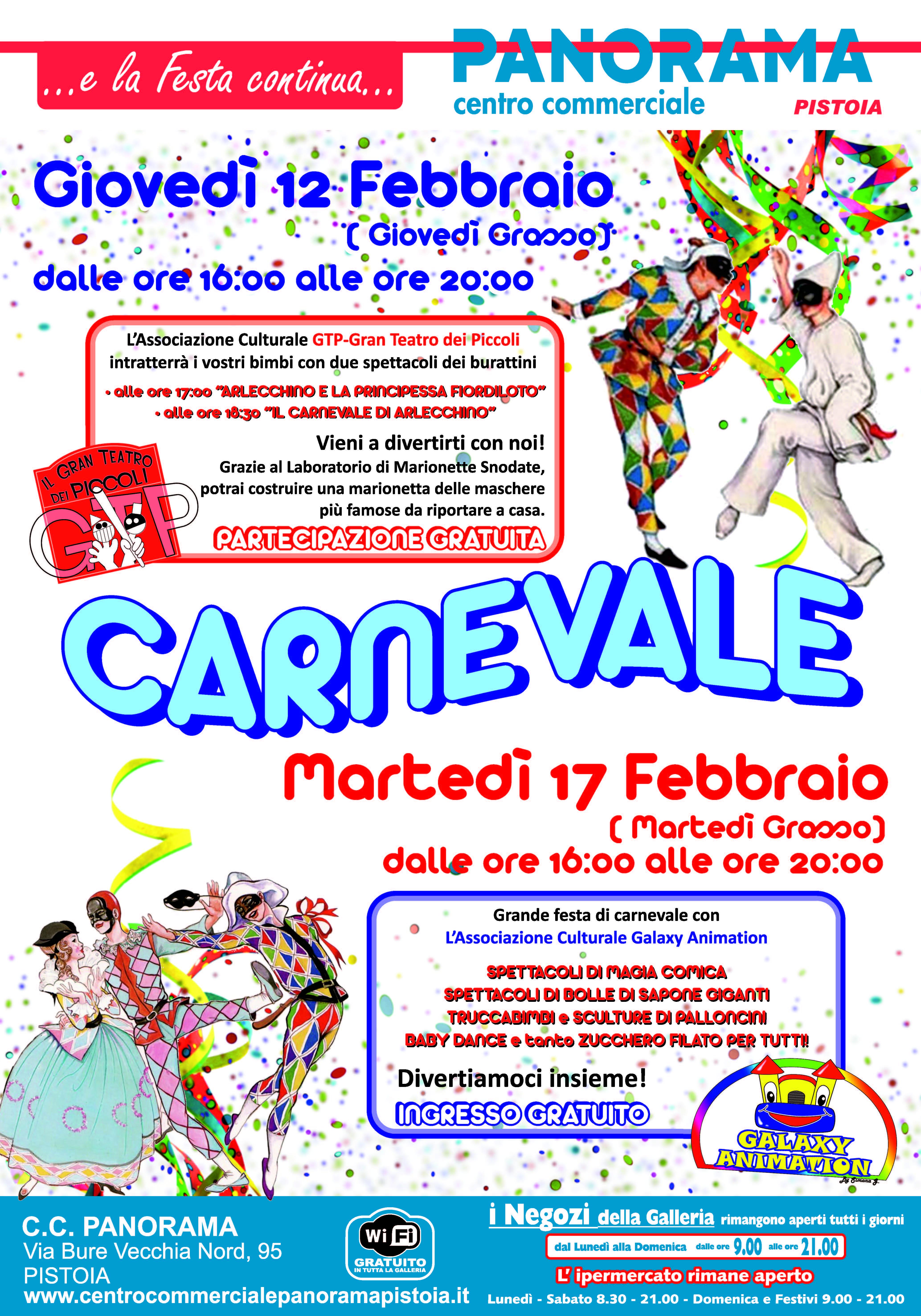 Panorama Manifesto Carnevale 2015 70x100